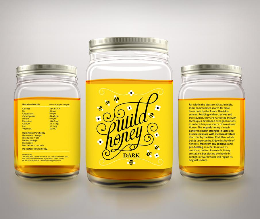 Honey Labels Designs