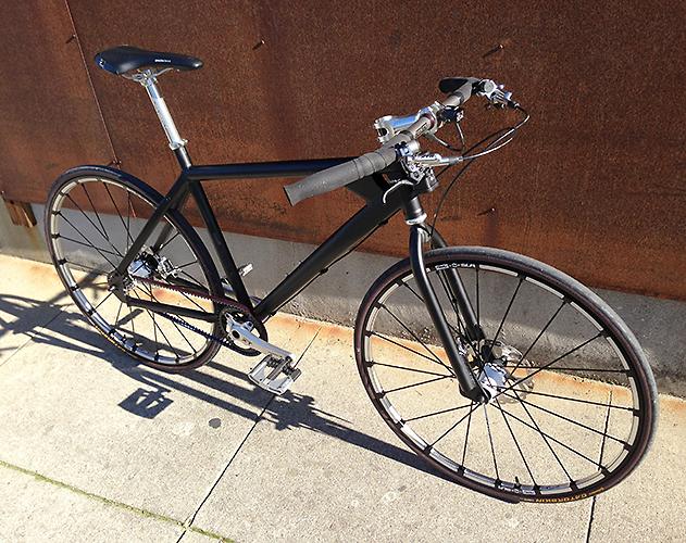 Custom Belt Drive Commuter Bike Randy Willoughby